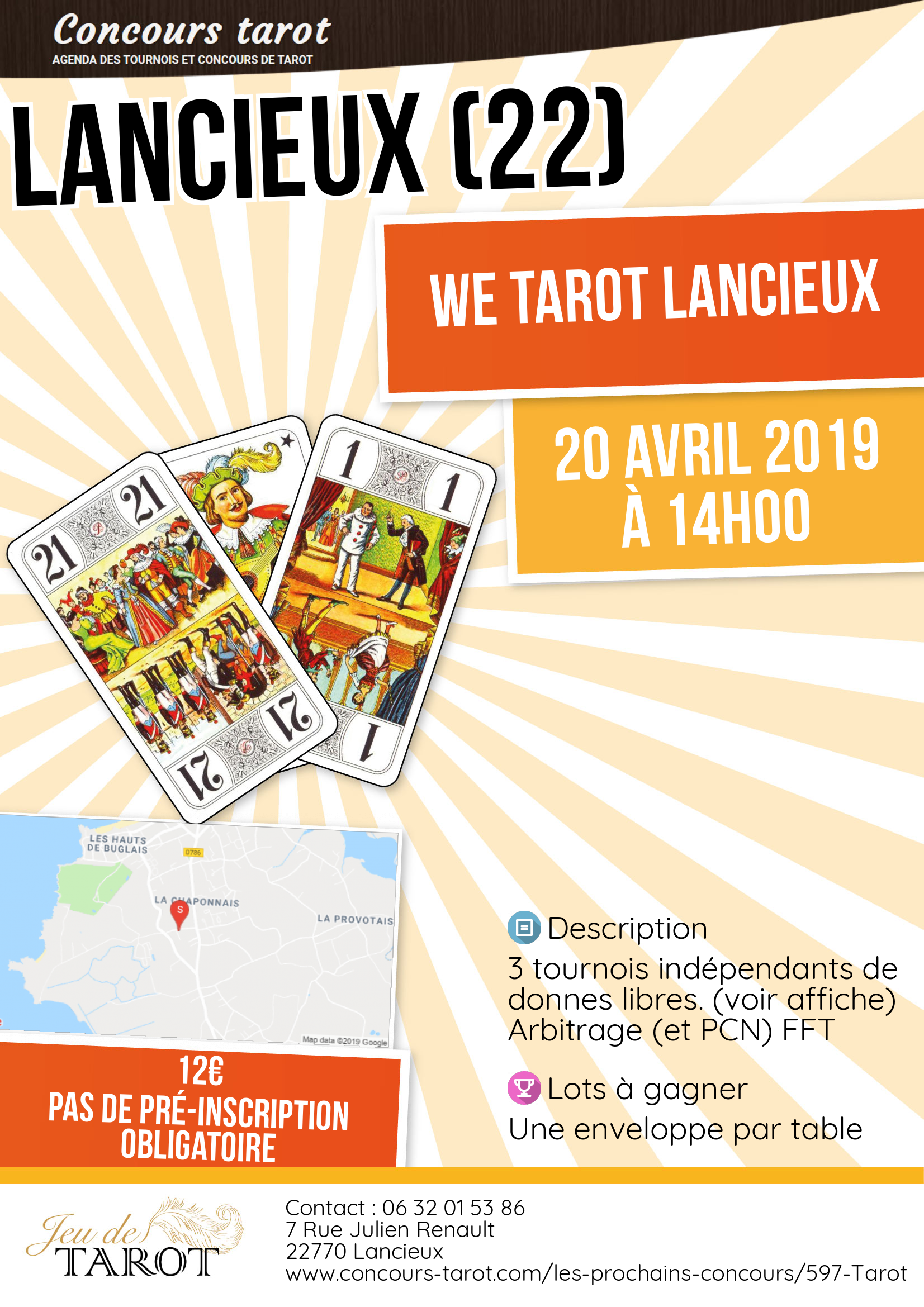 WE Tarot Lancieux